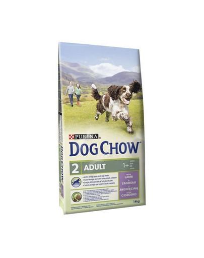 PURINA Dog Chow Adult jehněčí 14 kg +2,5Kg Gratis