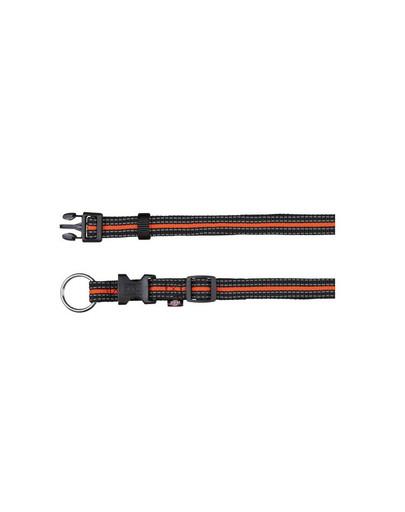 "TRIXIE Obojek ""Fusion obojek"" 30 – 45 cm / 17 mm černý - oranžový"