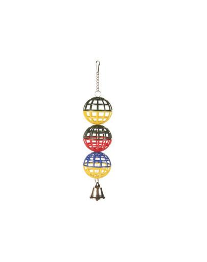 TRIXIE 3 Koule se zvonečkem 4.5 cm