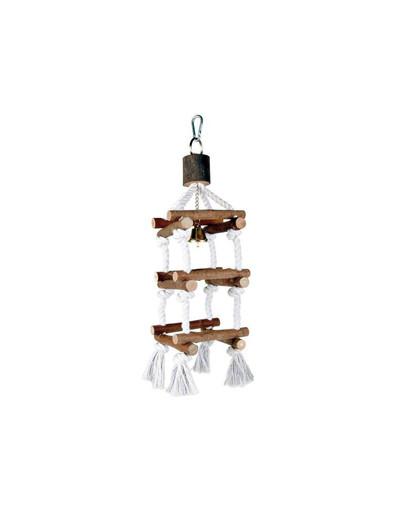TRIXIE Zábavná hračka  dřevěná pro ptáky 34 cm