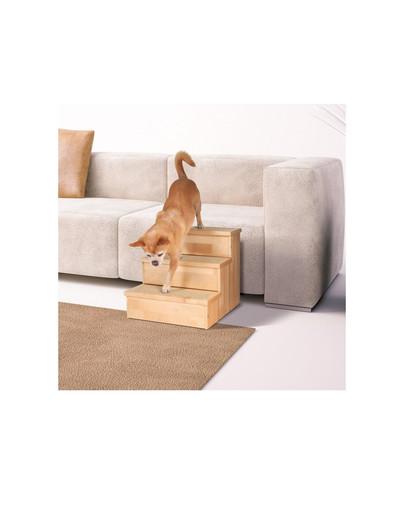 TRIXIE Dřevěné schody pro psy 40x38x45 cm