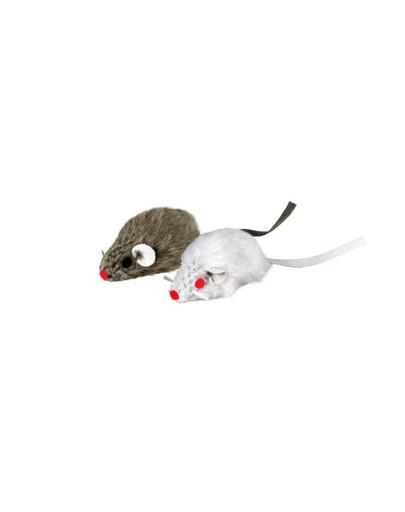TRIXIE Myš šedá se zvonečkem