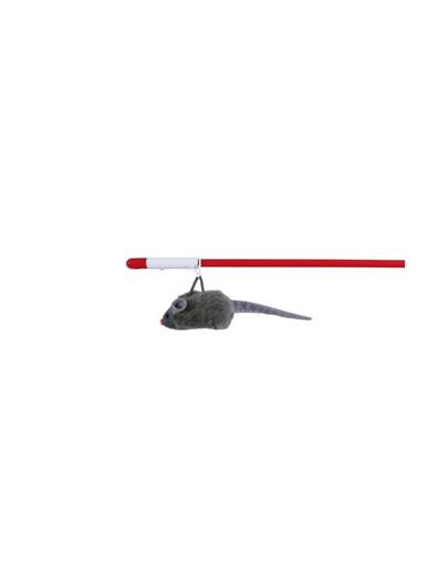 TRIXIE Pípací myš na prutu 47 cm