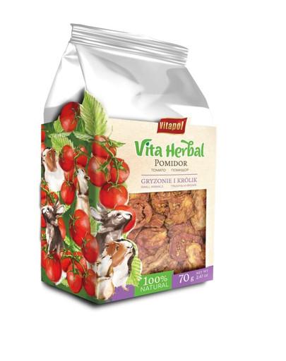 VITAPOL Sušené rajčata pro hlodavce a králíky 70 g