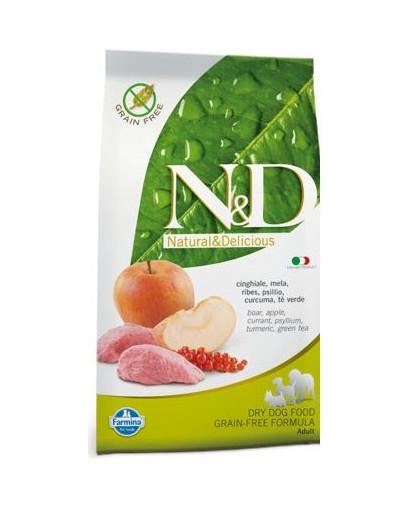 N&D Grain Free Adult Boar & Apple 2.5 kg