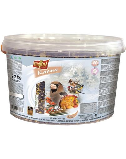 VITAPOL pokrm pro ptáky zimující  2.2 kg