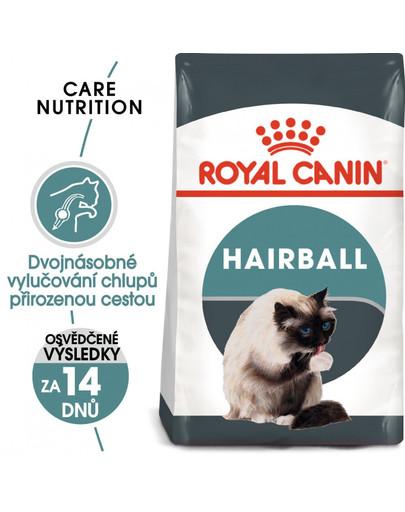 ROYAL CANIN Hairball Care 4kg granule pro kočky pro správné vylučování