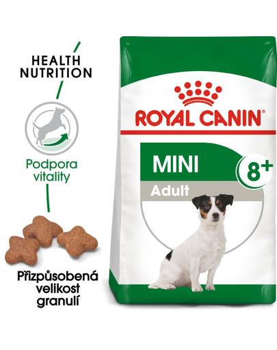 ROYAL CANIN Mini Adult 8+ 800g granule pro stárnoucí malé psy