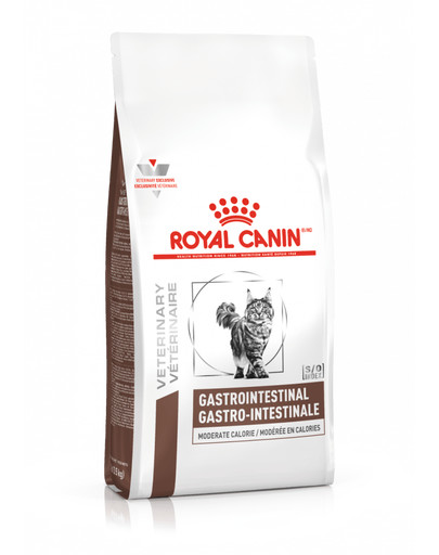 ROYAL CANIN Veterinary Diet Cat Gastrointestinal Moderate Calorie 4 kg