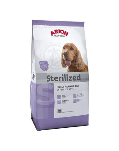 ARION Health&care dog sterilised 3 kg