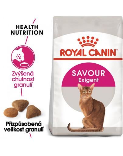 ROYAL CANIN Exigent savour sensation 10 kg+2 kg gratis granule pro mlsné kočky