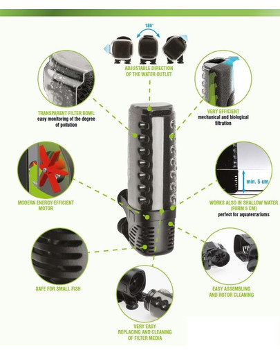 AQUAEL Filtr vnitřní Asap 700