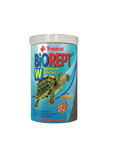 TROPICAL Biorept W krmivo pro želvy - tuba 100 ml / 30 g