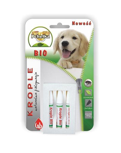 PCHELKA Bio kapky pro psa nad 15 kg 1.8 ml x1