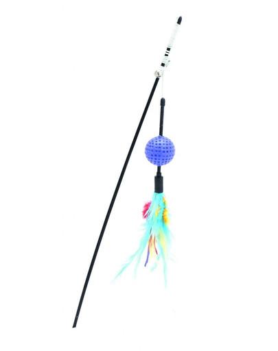 COMFY Udička s míčkem nebesky modré 65