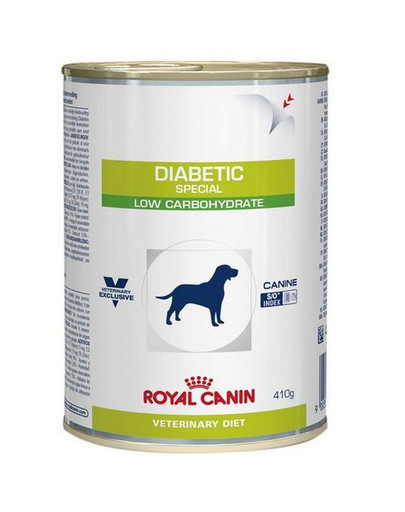ROYAL CANIN Dog diabetic 410 g Konzerva