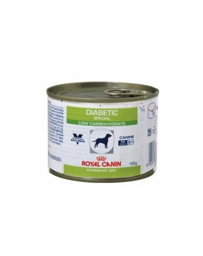ROYAL CANIN Dog diabetic 195 g Konzerva