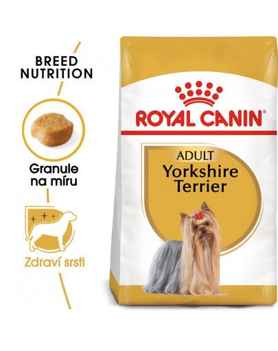 ROYAL CANIN Yorkshire Adult  1.5 kg granule pro dospělého jorkšíra