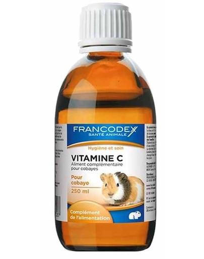 FRANCODEX Vitamín C pro hlodavce 250 ml