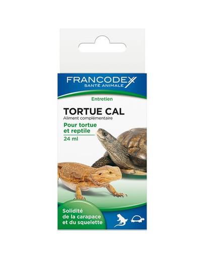 FRANCODEX Vápník pro želvy a plazy 24ml