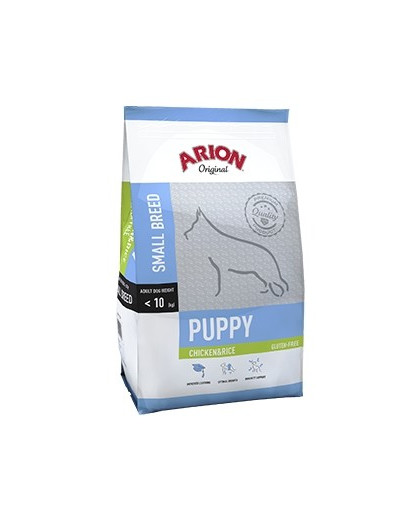 ARION Original Puppy Small Chicken & Rice 7,5 kg