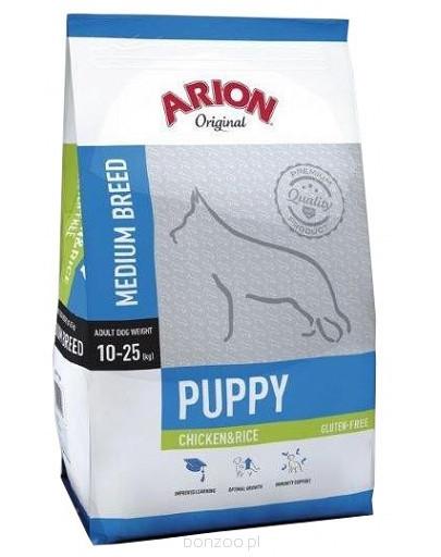 ARION Original Puppy Medium Chicken & Rice 3 kg