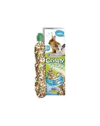"""VERSELE-LAGA Mega Sticks Rabbits-pro činčilys """"Mountain Valley"""" 140 g - pro králíky a činčily"""