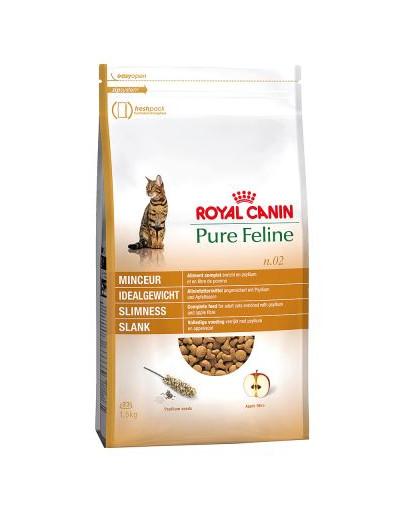 ROYAL CANIN Pure feline n.02 (štíhlá linie) 1.5 kg