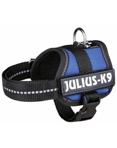 TRIXIE Postroj pro psy Julius-K9 postroj M - L 58–76 cm nebesky modrý