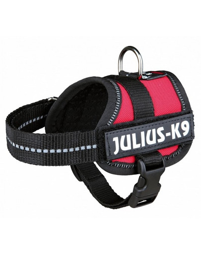 TRIXIE Postroj pro psy julius-k9 L - XL 71–96 cm červený