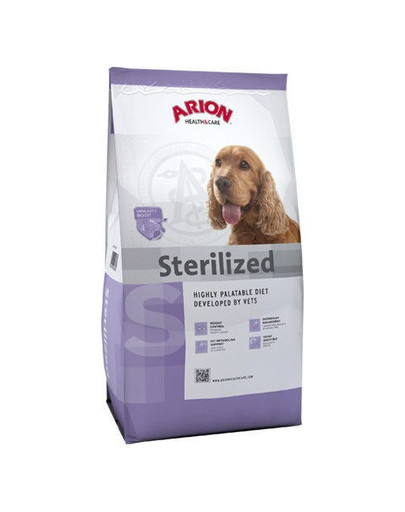 ARION Health&care dog sterilised 12 kg
