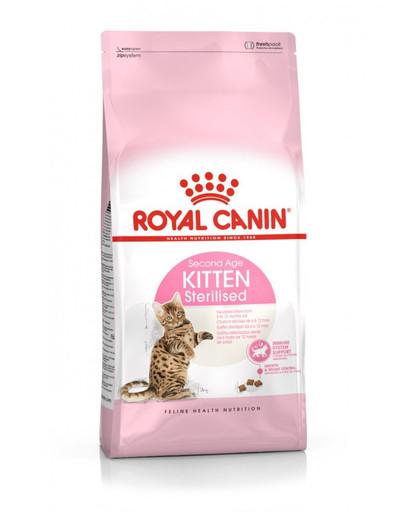ROYAL CANIN Kitten Sterilised 400g granule pro kastrovaná koťata