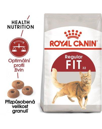 ROYAL CANIN Fit 4 kg granule pro správnou kondici koček