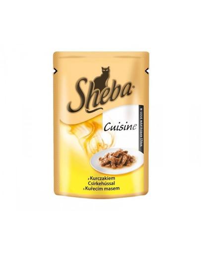 SHEBA Selection s kuřecím ve šťávě 85 g