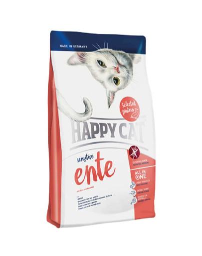 HAPPY CAT Sensitive kachna 300 g
