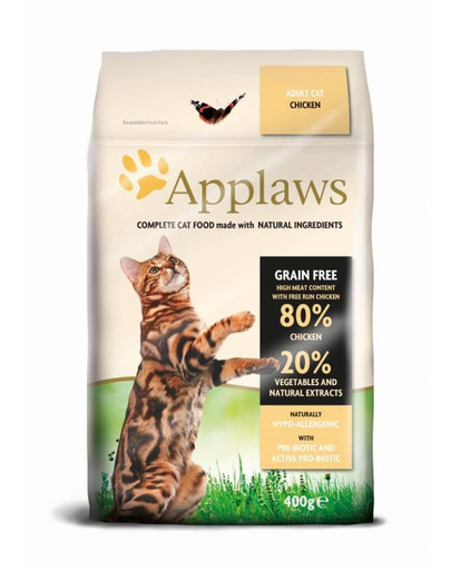 APPLAWS Cat Dry Adult Chicken 7,5kg granule pro kočky