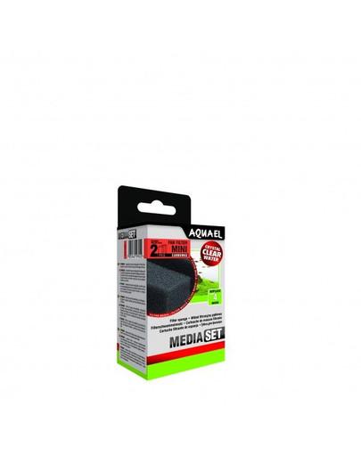 AQUAEL Filtrační molitan Fan Mini-Plus Carbo(2ks)
