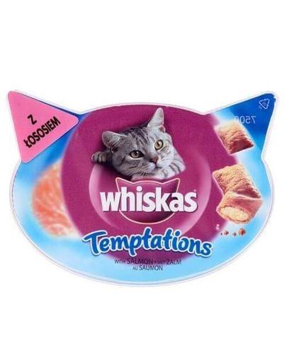 WHISKAS Temptations losos 60 g