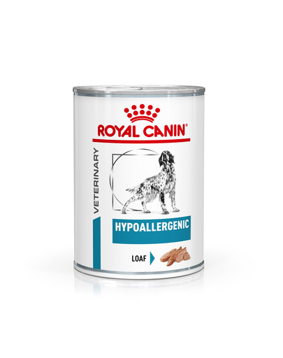 ROYAL CANIN Veterinary Health Nutrition Dog Hypoallergenic Can 400 g