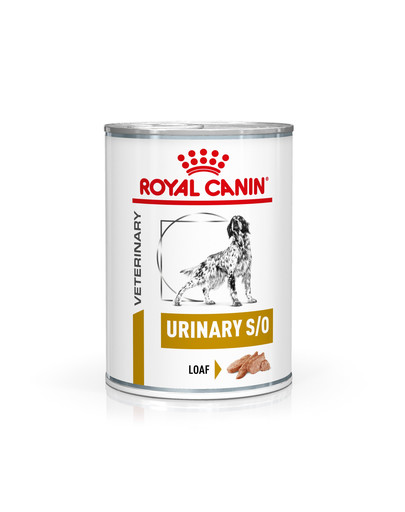 ROYAL CANIN Veterinary Health Nutrition Dog Urinary S/O Konzerva 410 g