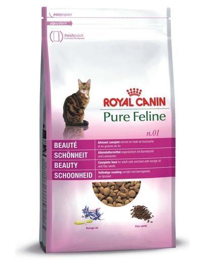 ROYAL CANIN Pure feline n.01 (pěkná  srst ) 1.5 kg