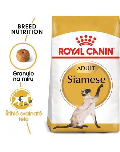ROYAL CANIN Siamese Adult 400g granule pro siamské kočky