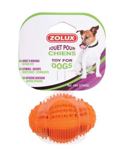 ZOLUX Rugby dental míč z tvrdé gumy 8cm