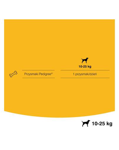 PEDIGREE Dentastix středně velké rasy 8 x180 g