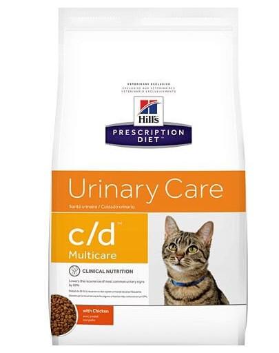 HILL'S Prescription Diet Feline c/d Multicare Chicken 10 kg